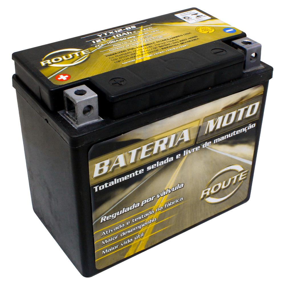 BATERIA TRIUMPH THRUXTON 900/ APRILIA RSV 1000 MILLE  (YTX12-BS) ROUTE