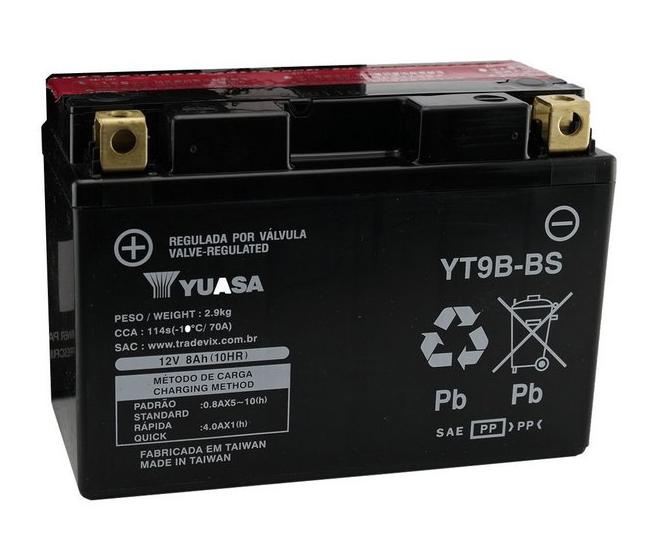 BATERIA YAMAHA XT 660 ORIGINAL YUASA (YT9B-BS)