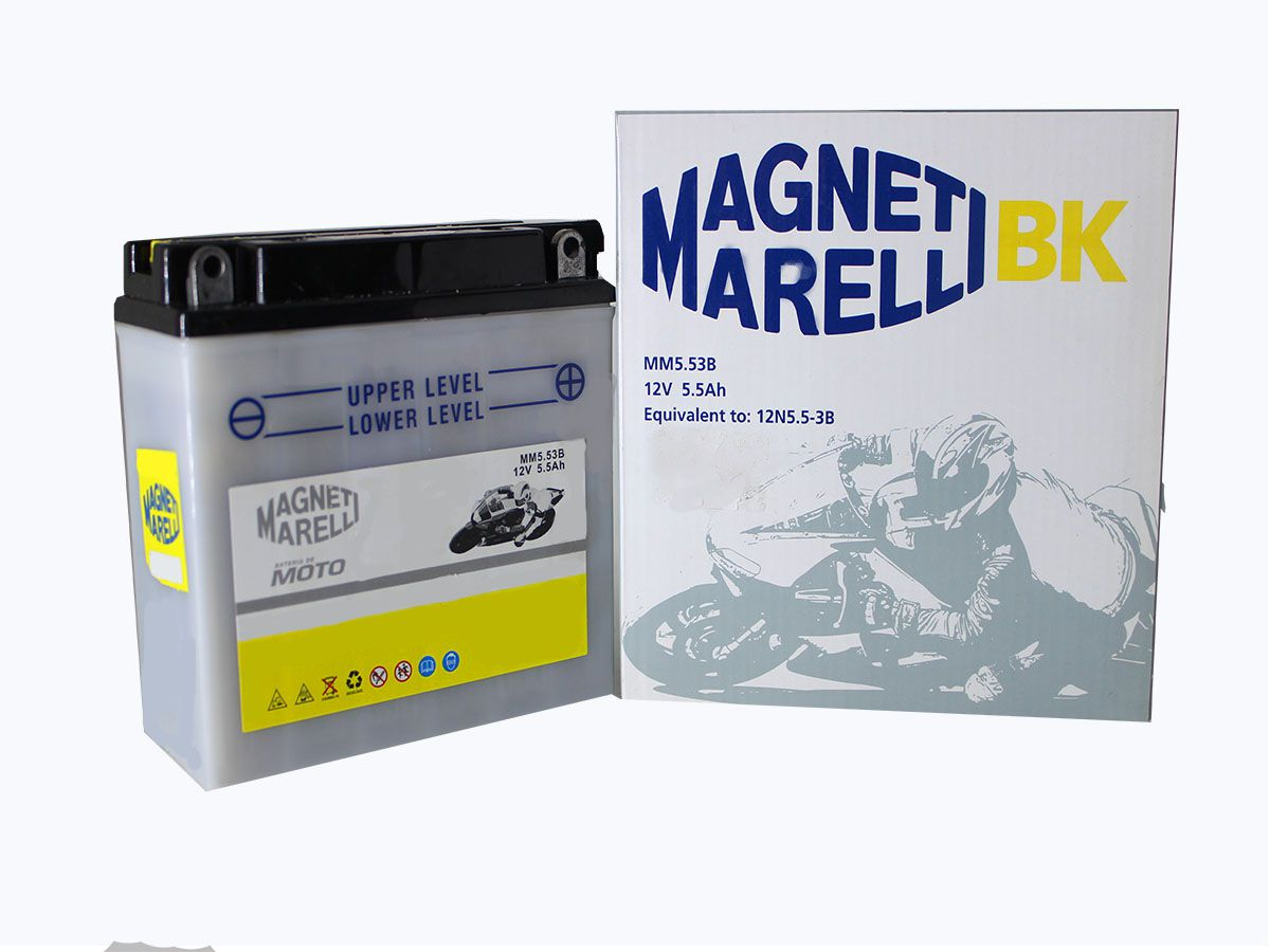BATERIA YAMAHA XTZ125/ CRYPTON 105 MAGNETI MARELLI (MM53B)