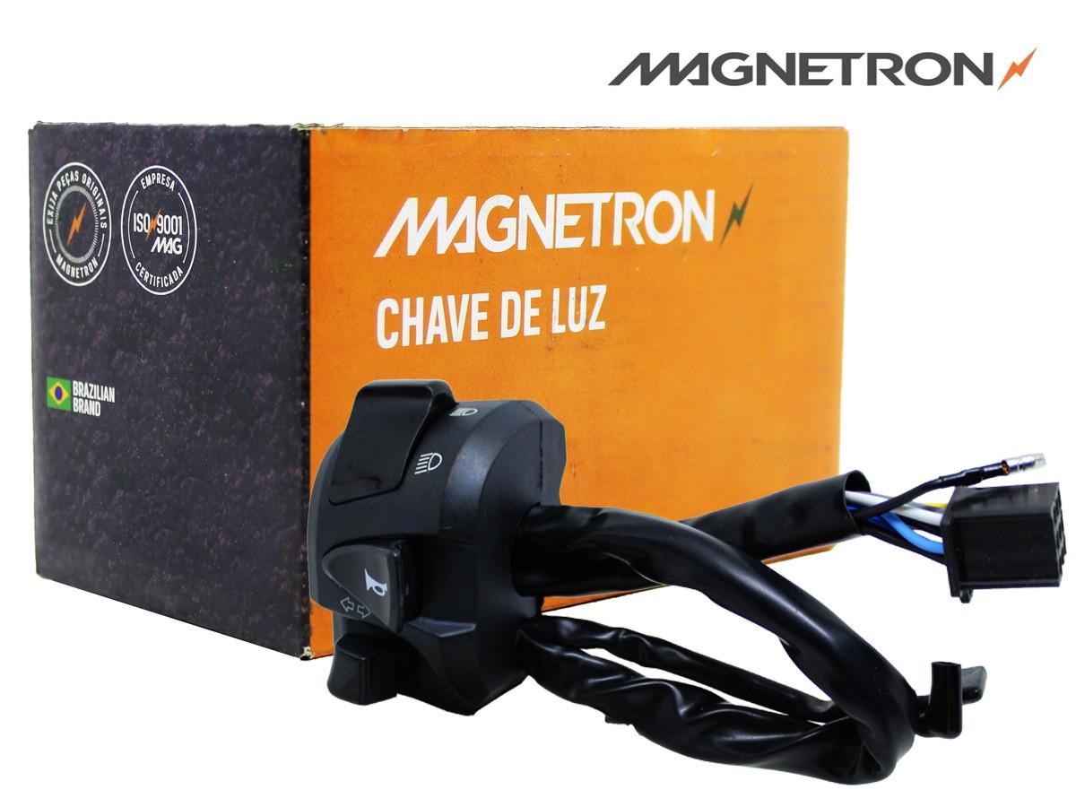 CHAVE-PUNHO DE LUZ HONDA NXR 160 BROS FLEX 2015 A 2019 MAGNETRON
