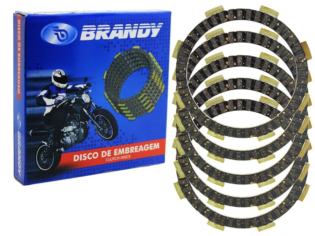 DISCO DE EMBREAGEM HONDA CG/ START/ CARGO 160 BRANDY