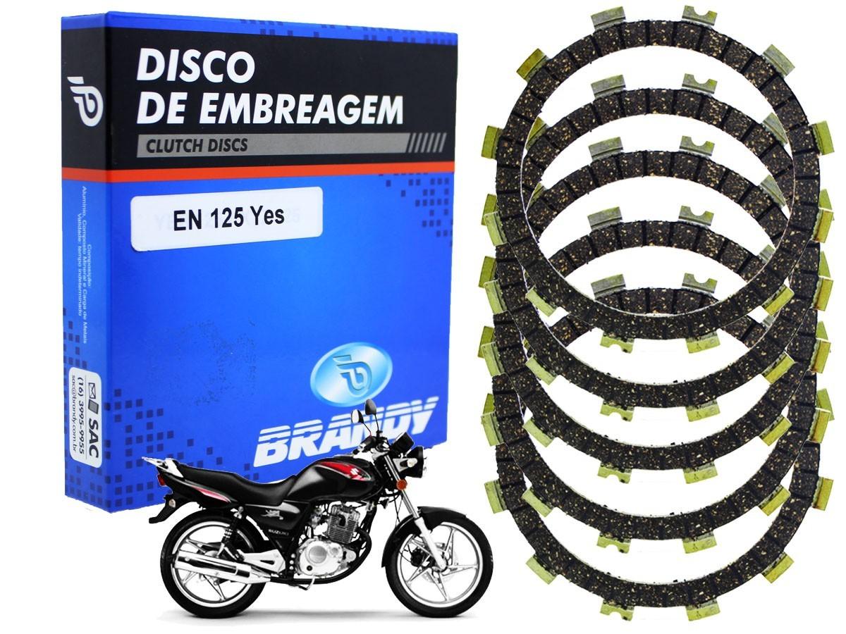 DISCO DE EMBREAGEM SUZUKI YES 125 (TODOS OS ANOS) BRANDY