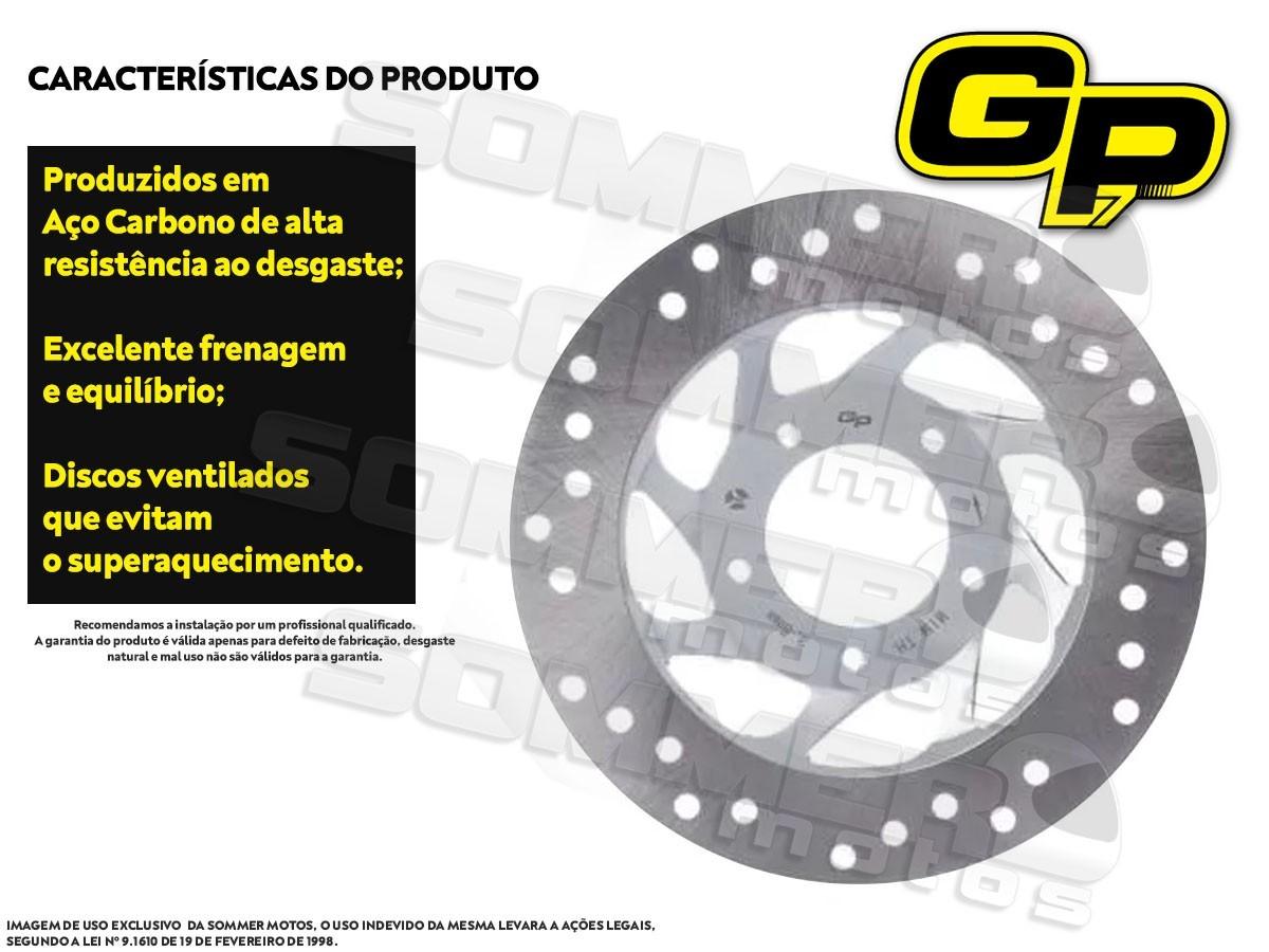 DISCO DE FREIO DIANTEIRO HONDA BIZ 125 2006 A 2018 GP