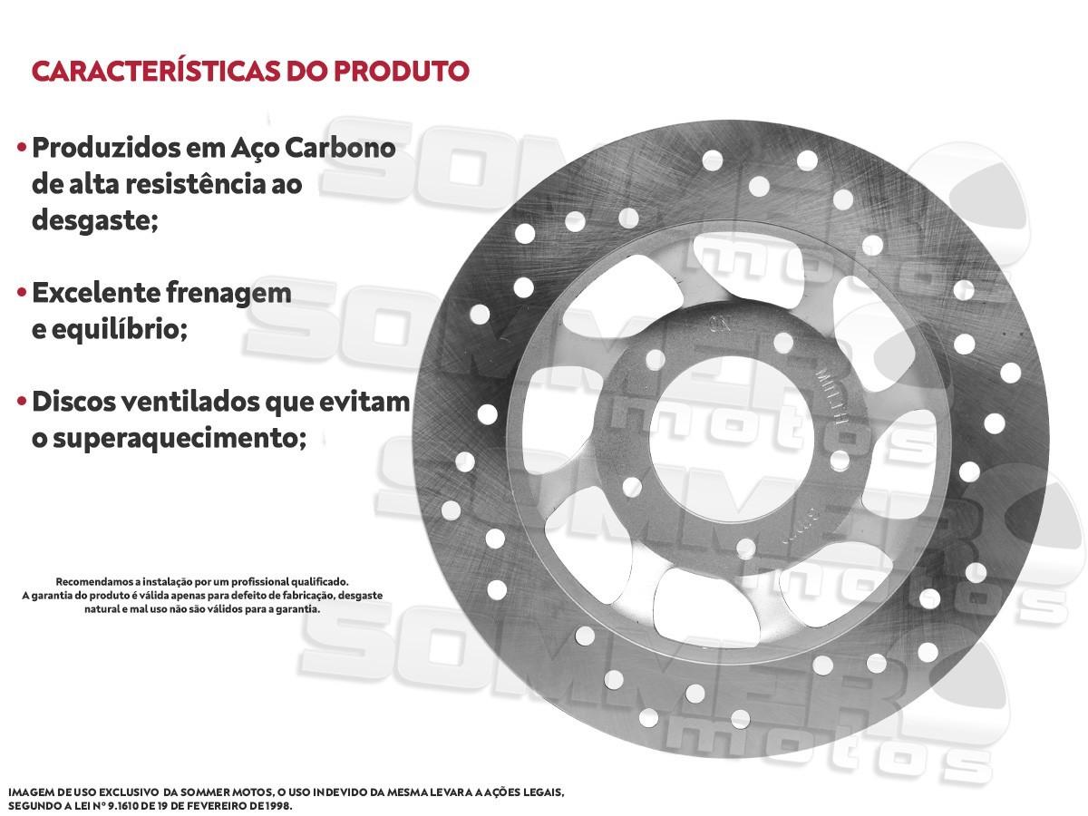 DISCO DE FREIO DIANTEIRO HONDA BIZ 100/ 125 (TODOS OS ANOS) ILLION