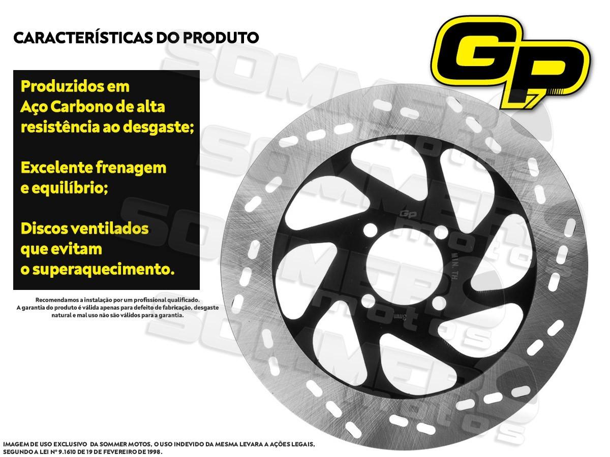 DISCO DE FREIO DIANTEIRO SUZUKI GSR 125/ GSR 150 I (TODOS OS ANOS) GP