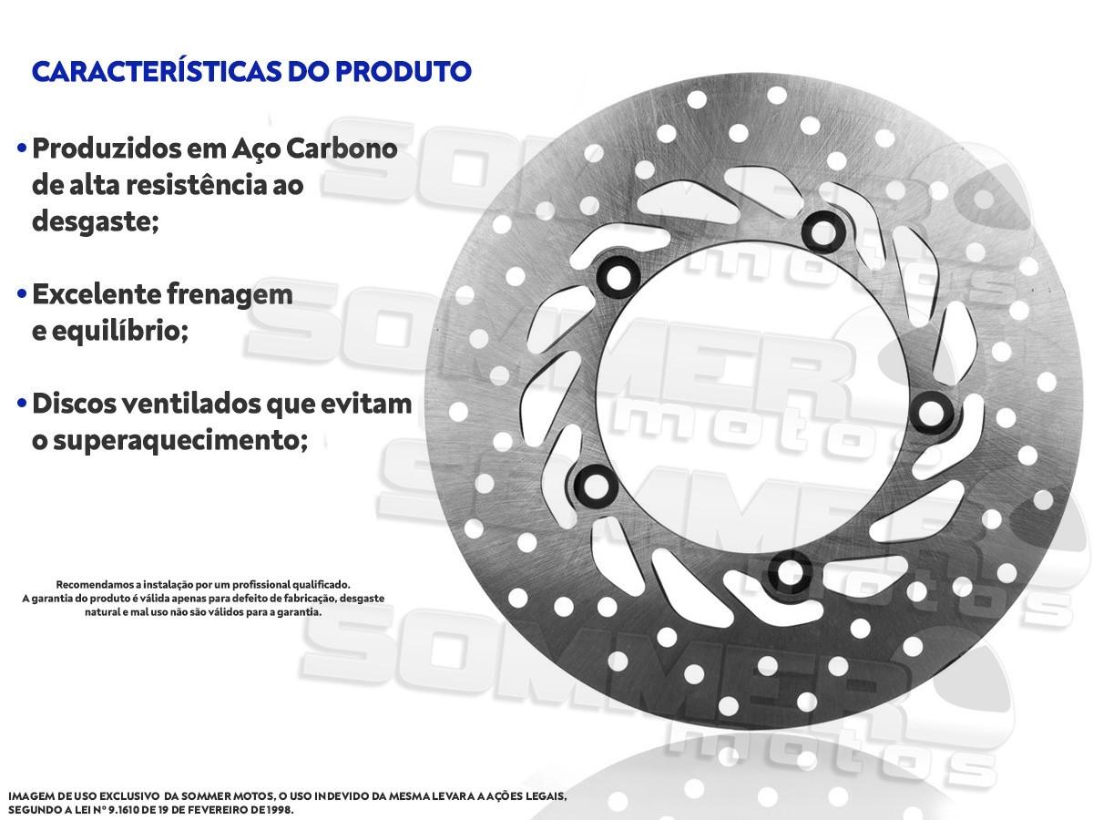 DISCO DE FREIO DIANTEIRO YAMAHA FAZER 150 (TODOS OS ANOS) AOLIXIN