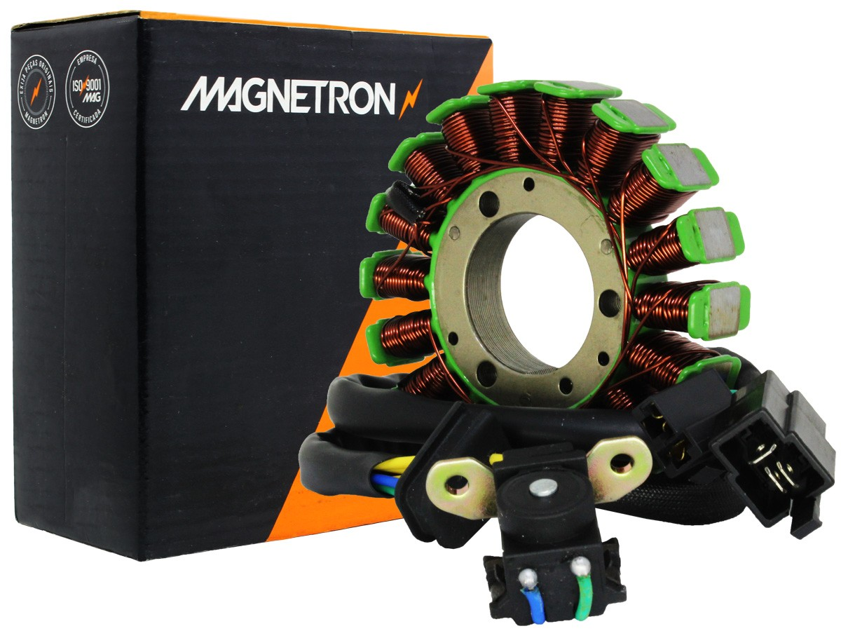 ESTATOR SUNDOWN STX 200 MOTARD 2007 A 2008 MAGNETRON