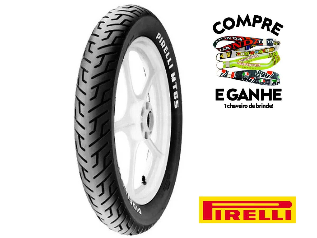 Jogo de pneu 100-90-18 + 275-18 - MT65 - Sem Camara - Pirelli