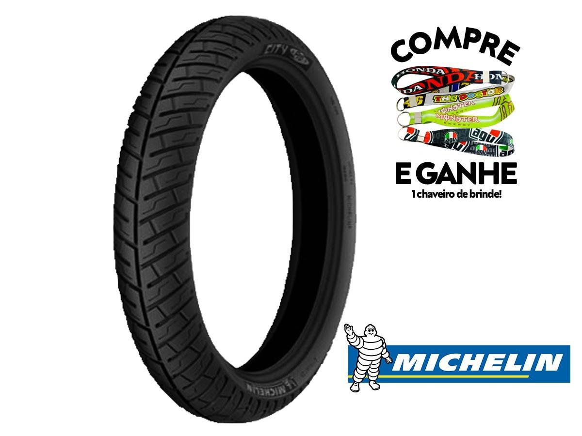 Jogo Par Pneu Honda Titan 150 Michelin City Pro (275-18 + 100-90-18) Uso Com Câmara