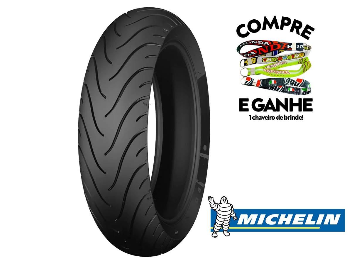 Jogo Pneu 180-55-17 + 120-70-17 Michelin ( Sem Câmara)