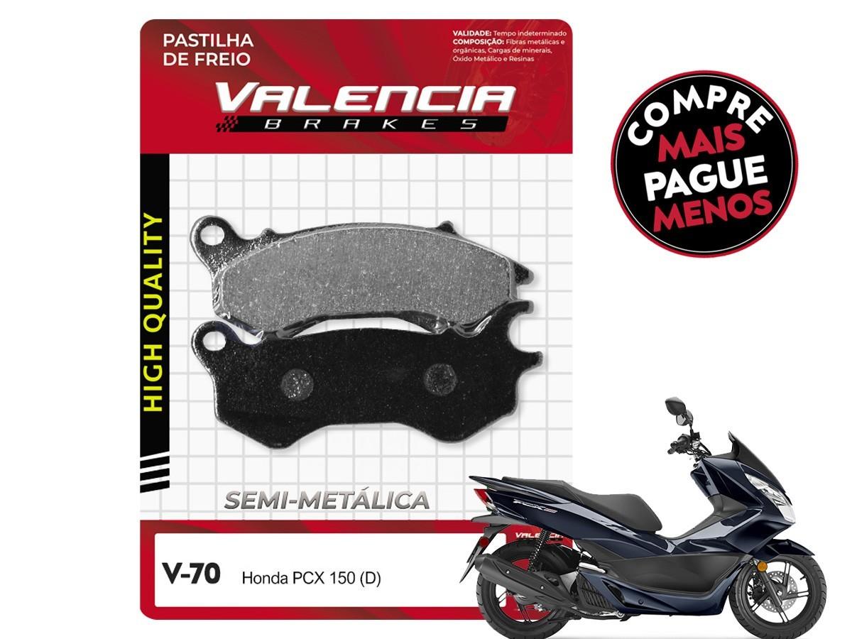 KIT 20 JOGOS DE PASTILHAS DE FREIO DIANTEIRA/TRASEIRA DAFRA CITYCOM 300 VL BRAKES(V66-FJ1460)