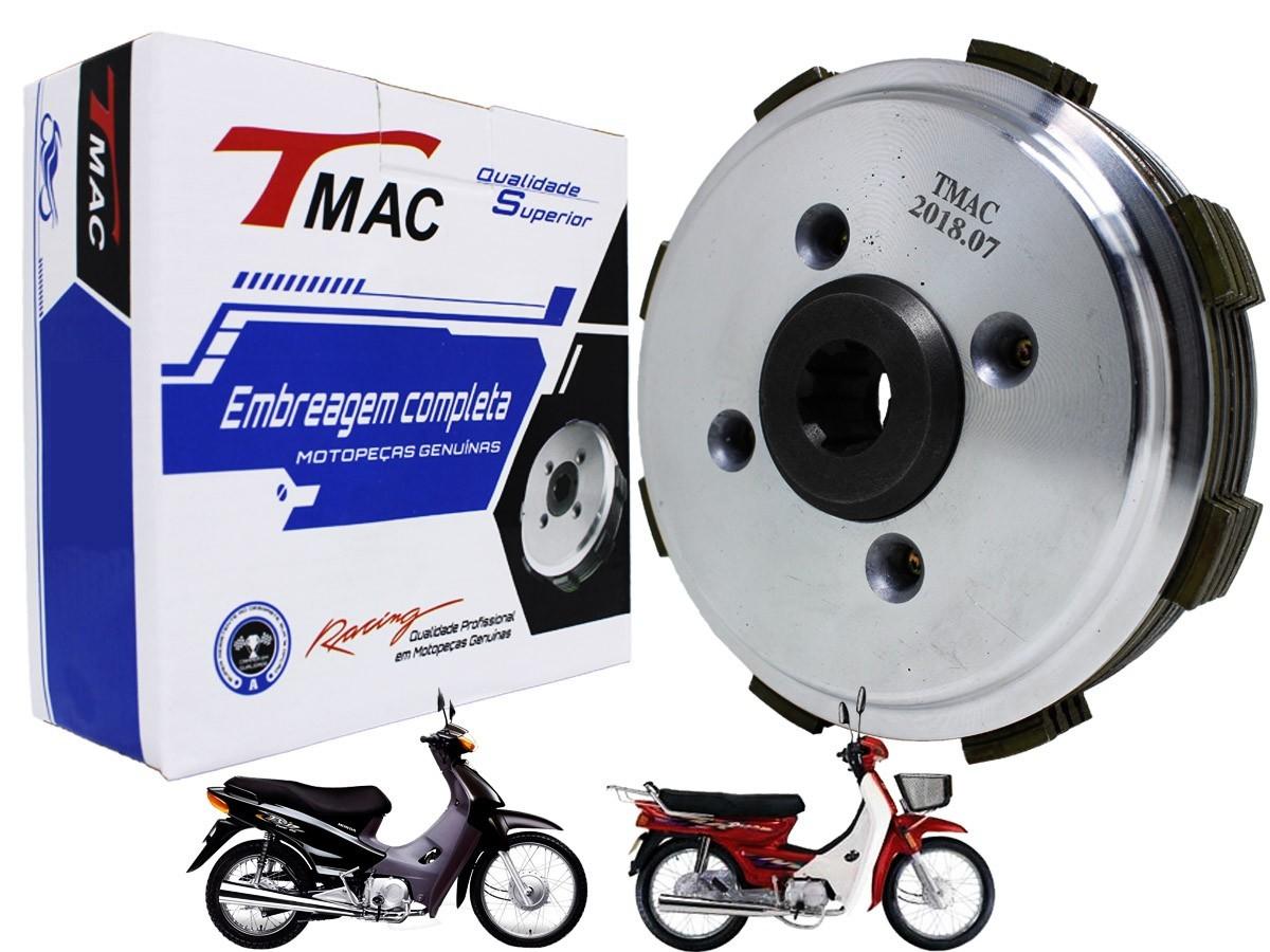 KIT EMBREAGEM COMPLETO HONDA BIZ 100 T-MAC