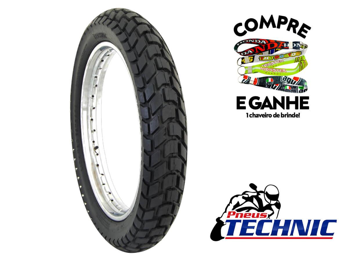 Kit/ jogo de pneu 110-80-18 + 90-90-19 com câmara Technic