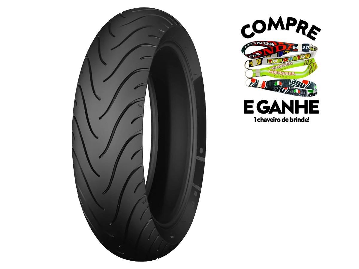 Kit Jogo pneu 120-70-17 + 160-60-17 - Sem camara - Michelin