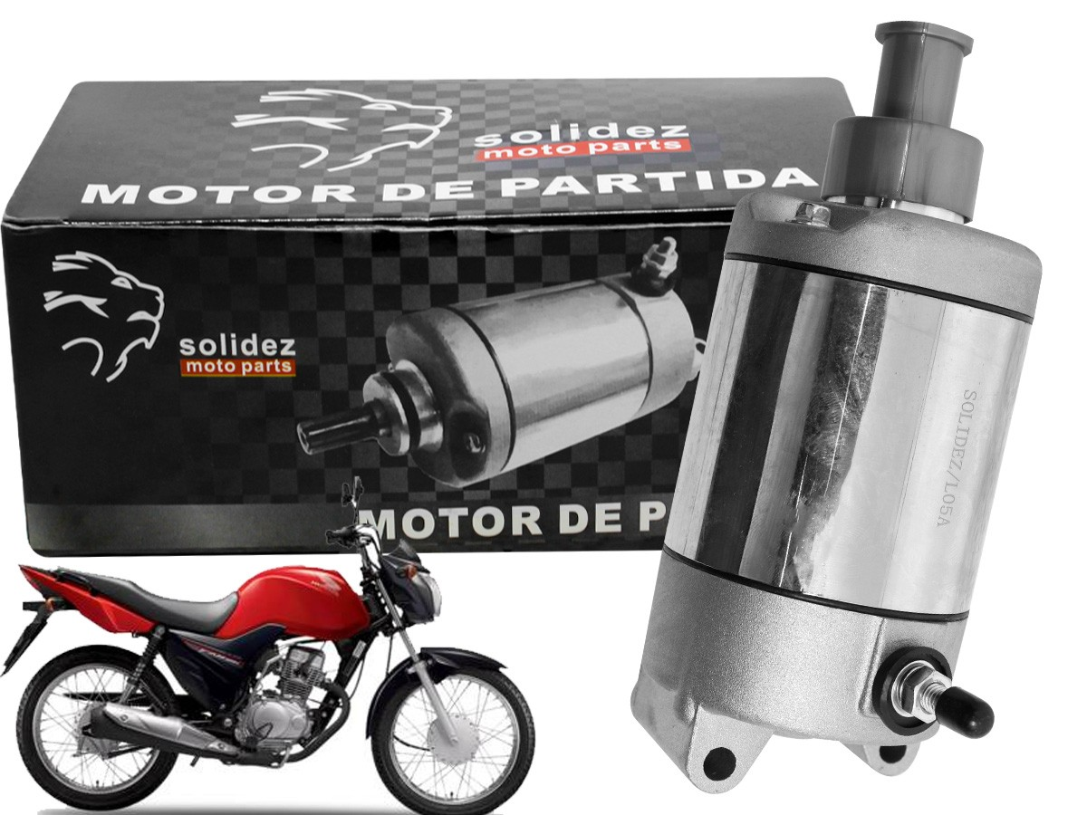 MOTOR DE PARTIDA HONDA CBX 150 AERO SOLIDEZ
