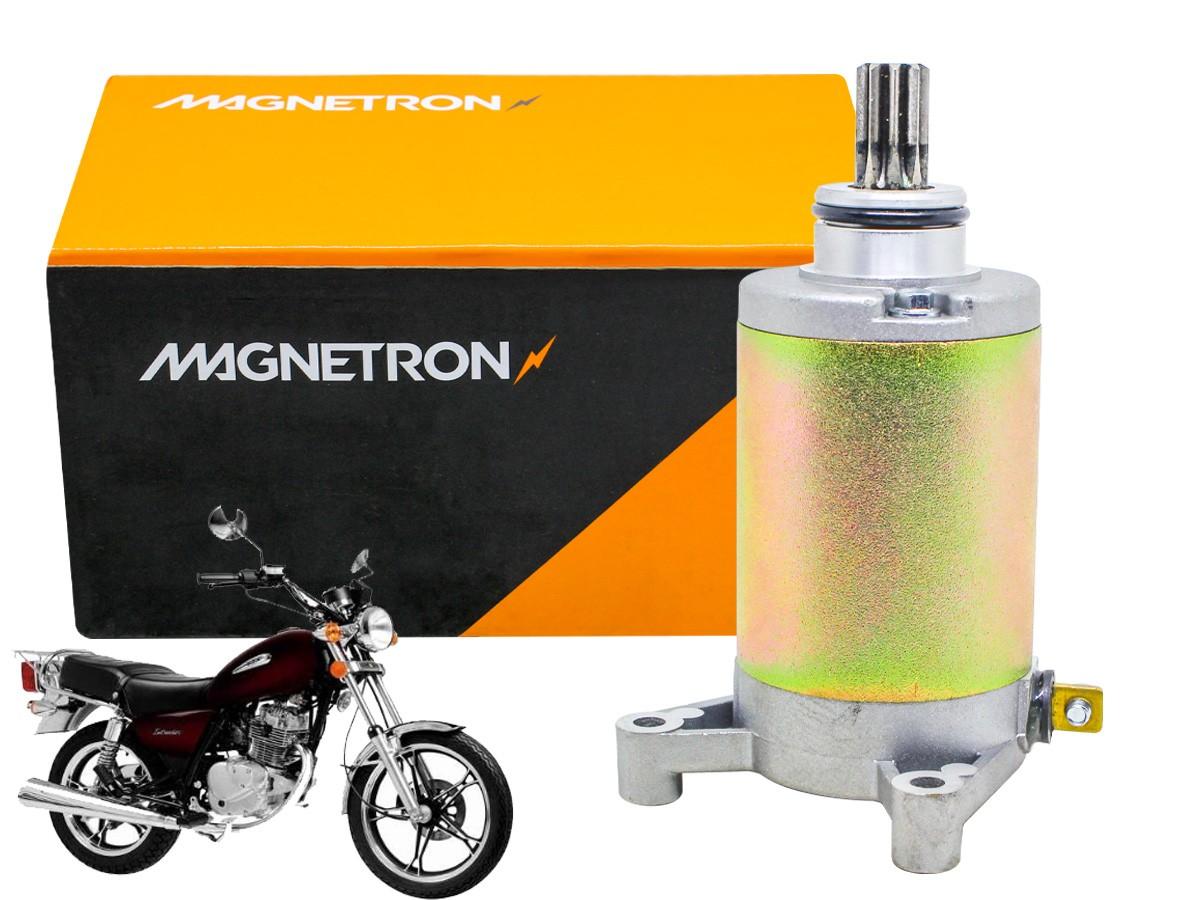 MOTOR DE PARTIDA SUNDOWN  STX 200/ MOTARD 200  MAGNETRON
