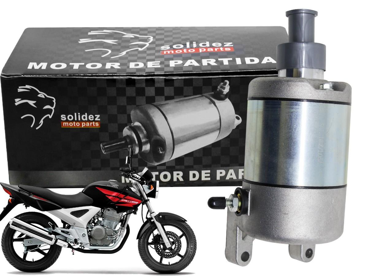 MOTOR PARTIDA HONDA CBX 250 TWISTER 2001 A 2008 SOLIDEZ