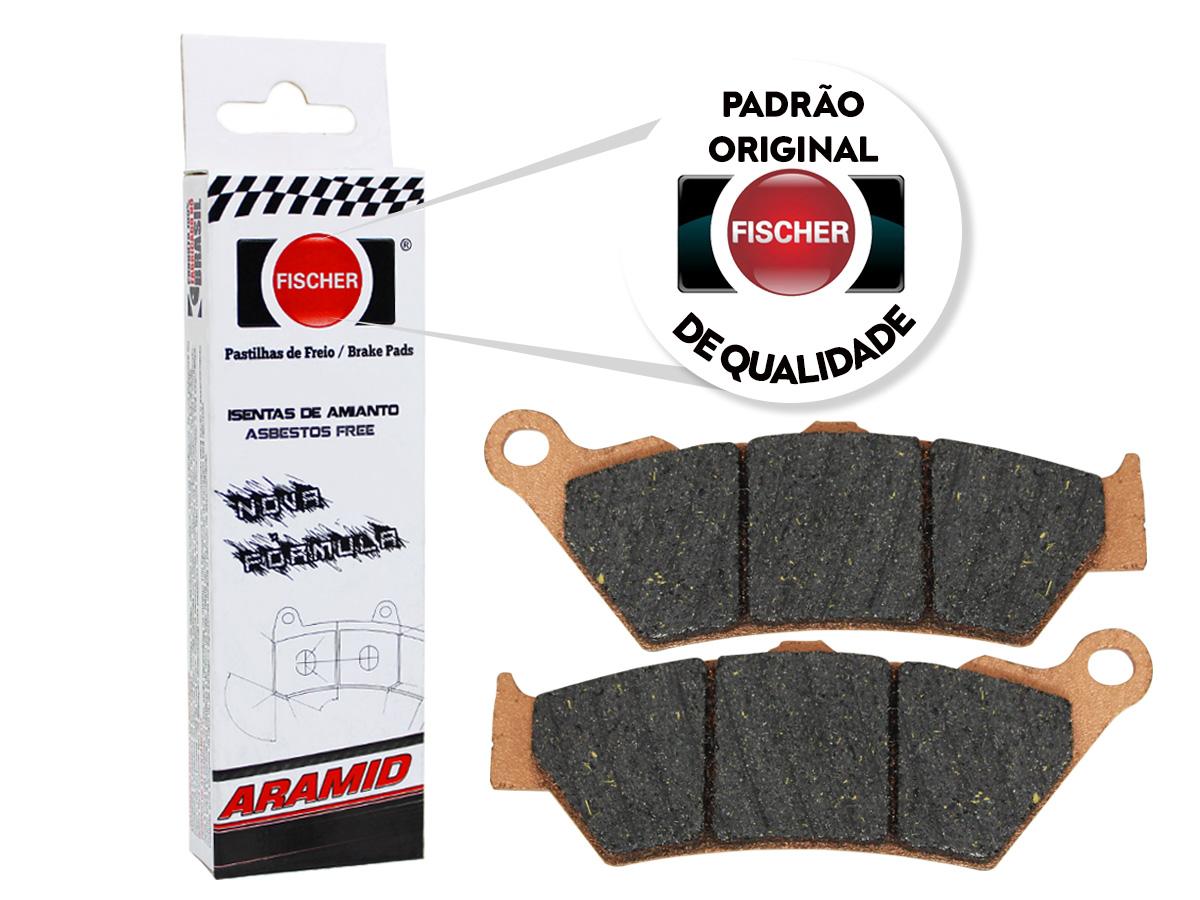 Pastilha de Freio Dianteira Aprilia Moto/Pegaso 650CC 1995/... Fischer(FJ1480)