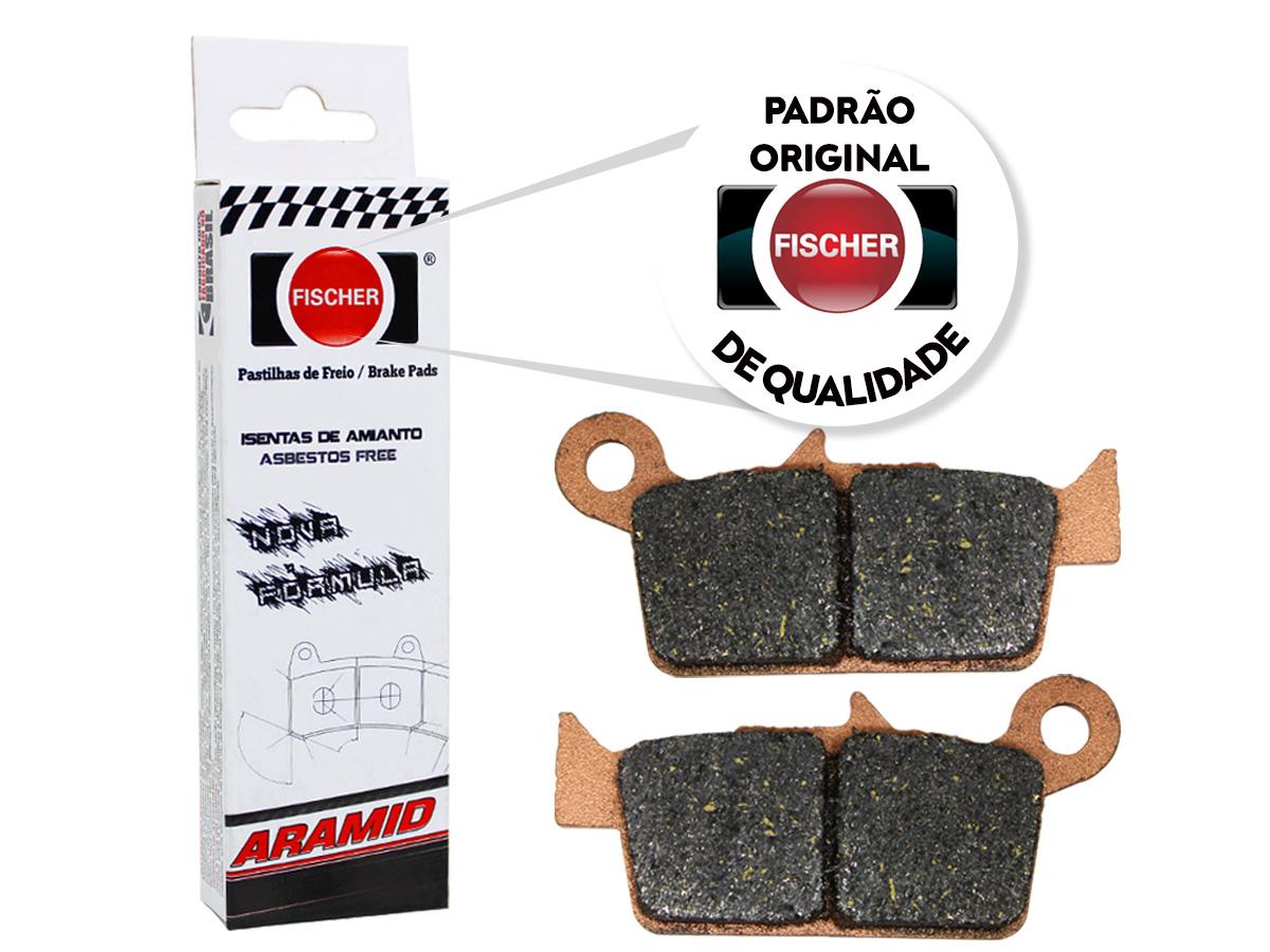 Pastilha de Freio Dianteira Kymco Super 9 50CC 2000 a 2001 Fischer(FJ1030)