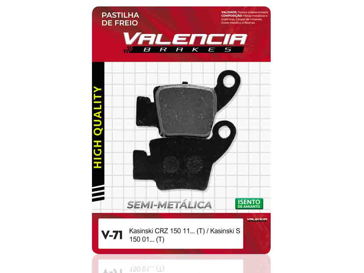 PASTILHA DE FREIO DIANTEIRO HONDA PCX 150  VALENCIA (V70)