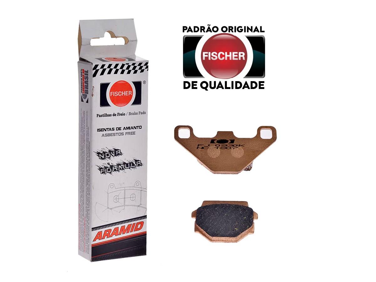 PASTILHA DE FREIO TRASEIRA AGRALE W16 600CC 1995/...