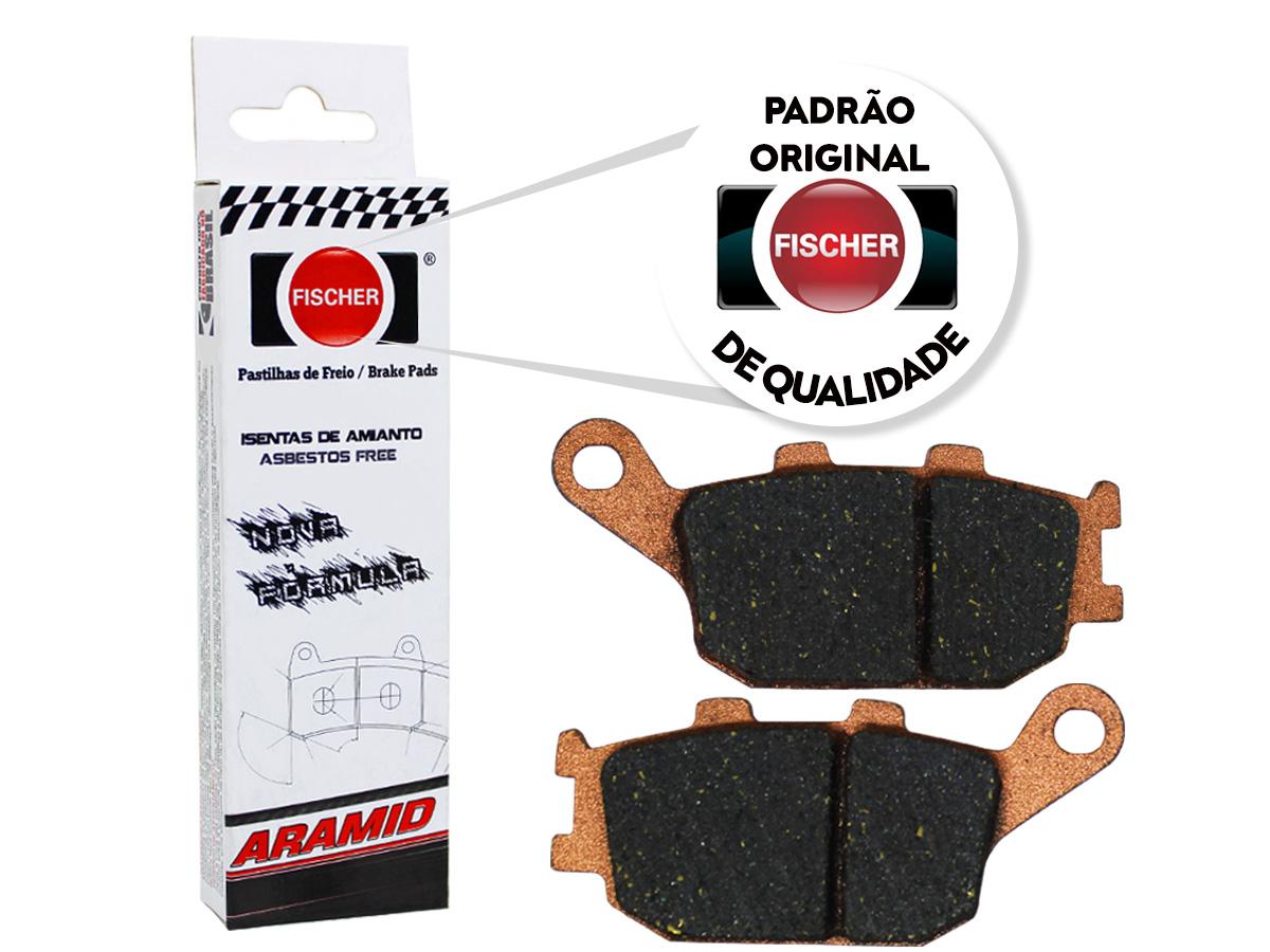 Pastilha de Freio Traseiro Suzuki GSF Bandit 650 / GSF Bandit 650 C/ABS 2007/... Fischer(FJ1150)