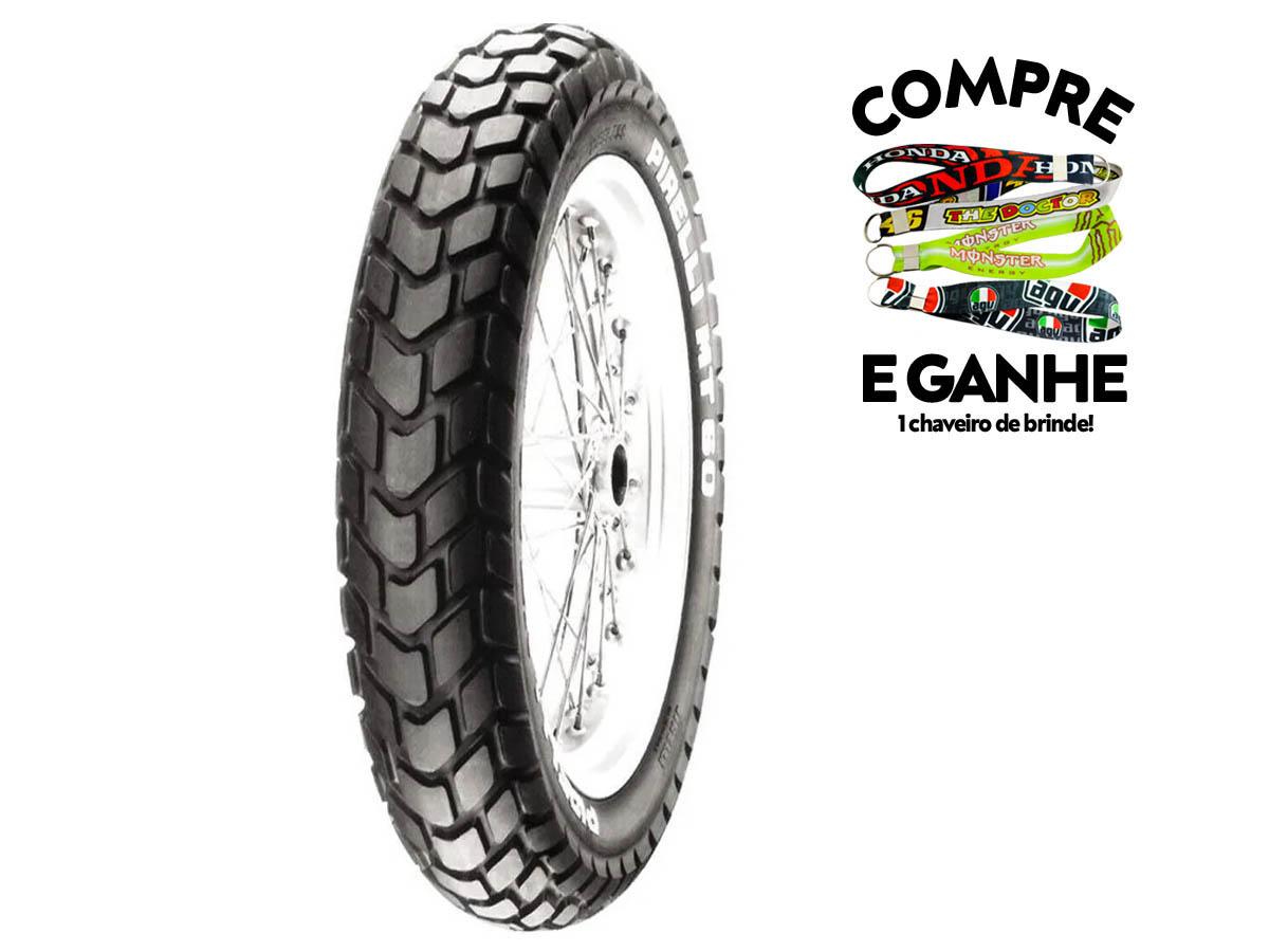 Pneu Dianteiro Honda NXR Bros 125/150/160 90-90-19 MT60 Pirelli 52P tt(USO COM Câmara)