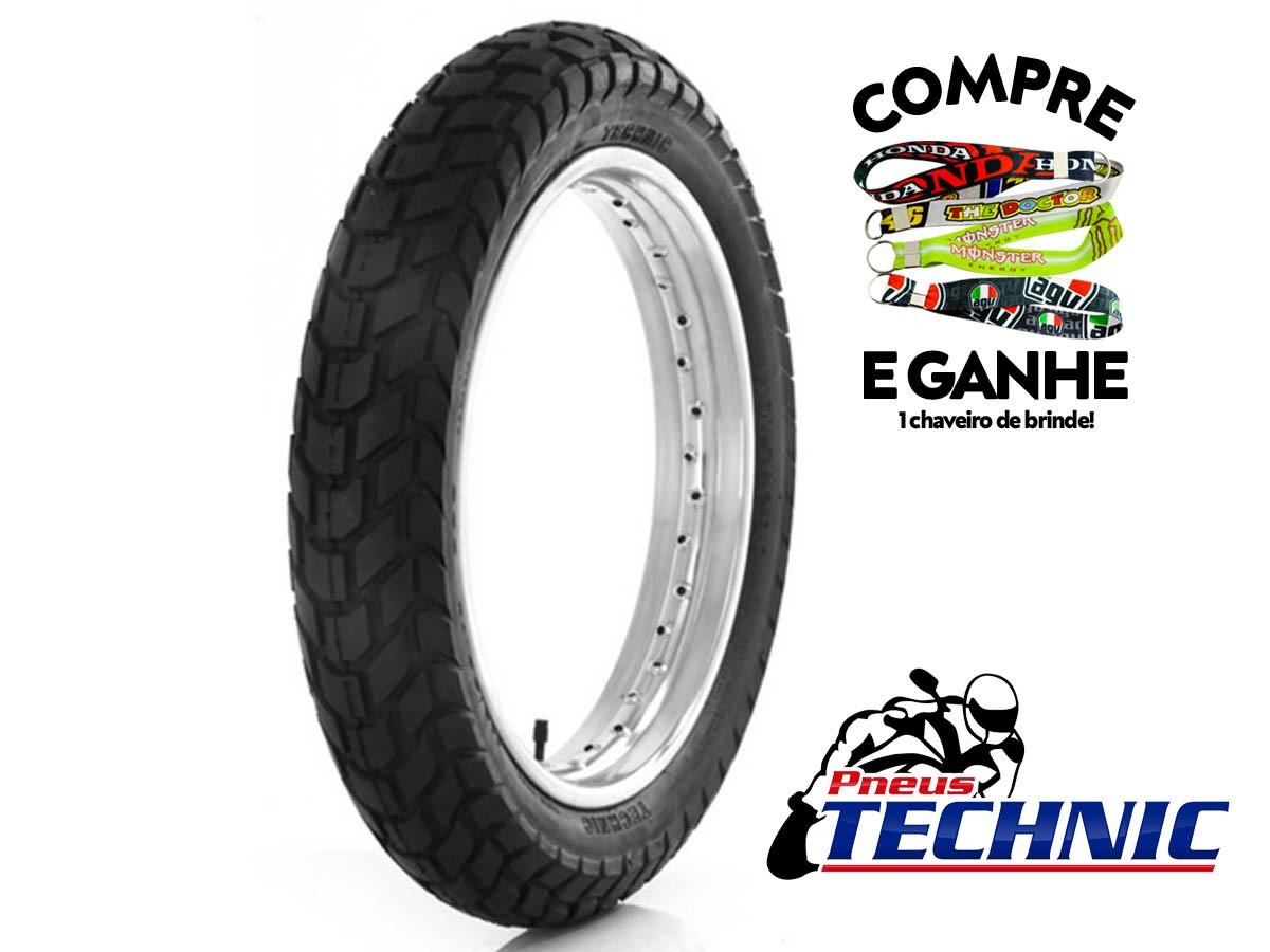PNEU DIANTEIRO HONDA NXR BROS 125/150/160 90-90-19 T&C TECHNIC 52T TT(USO C/ CÂMARA)
