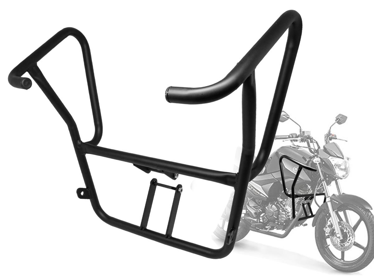 Protetor de Carenagem/ Motor Yamaha Fazer 150/ Factor 150 Preto Voiti Parts