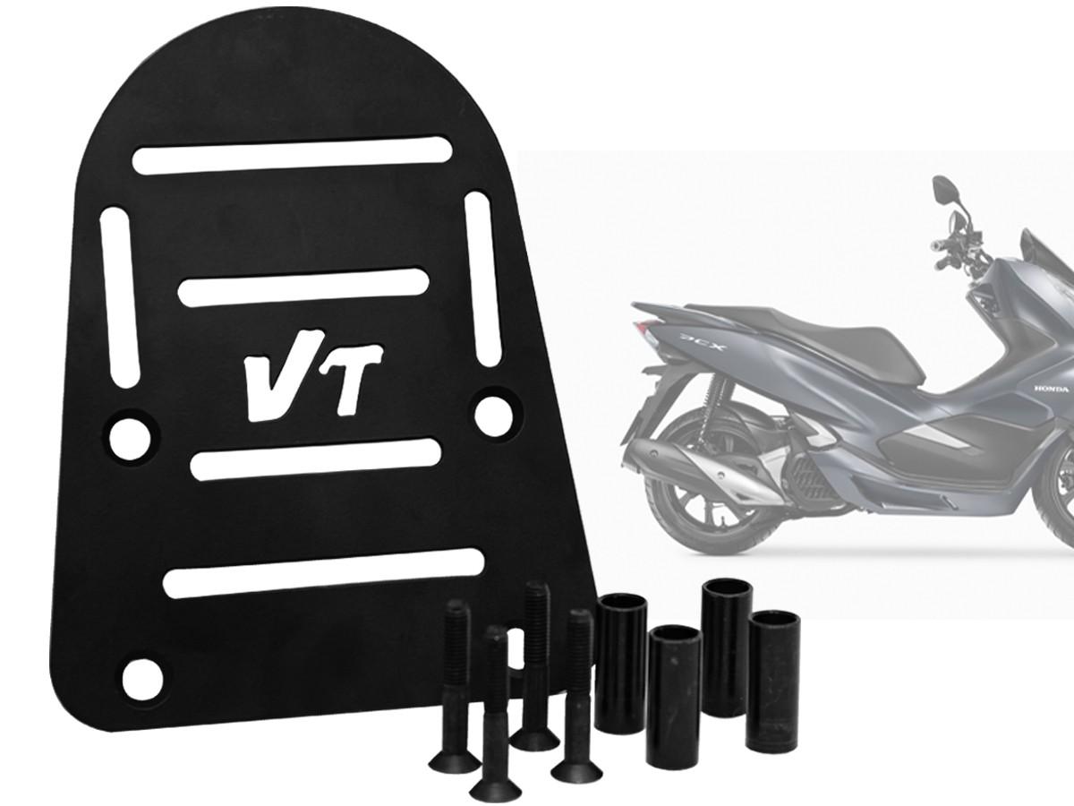 BAGAGEIRO HONDA PCX 150 PRETO 2013 A 2017 VOITI PARTS