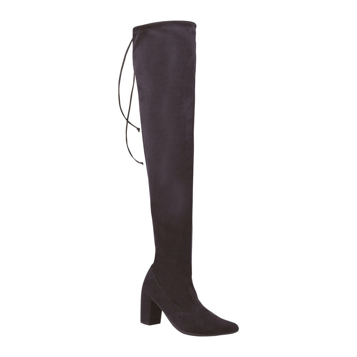 Bota Chiquiteira Over The Knee Preto WLN