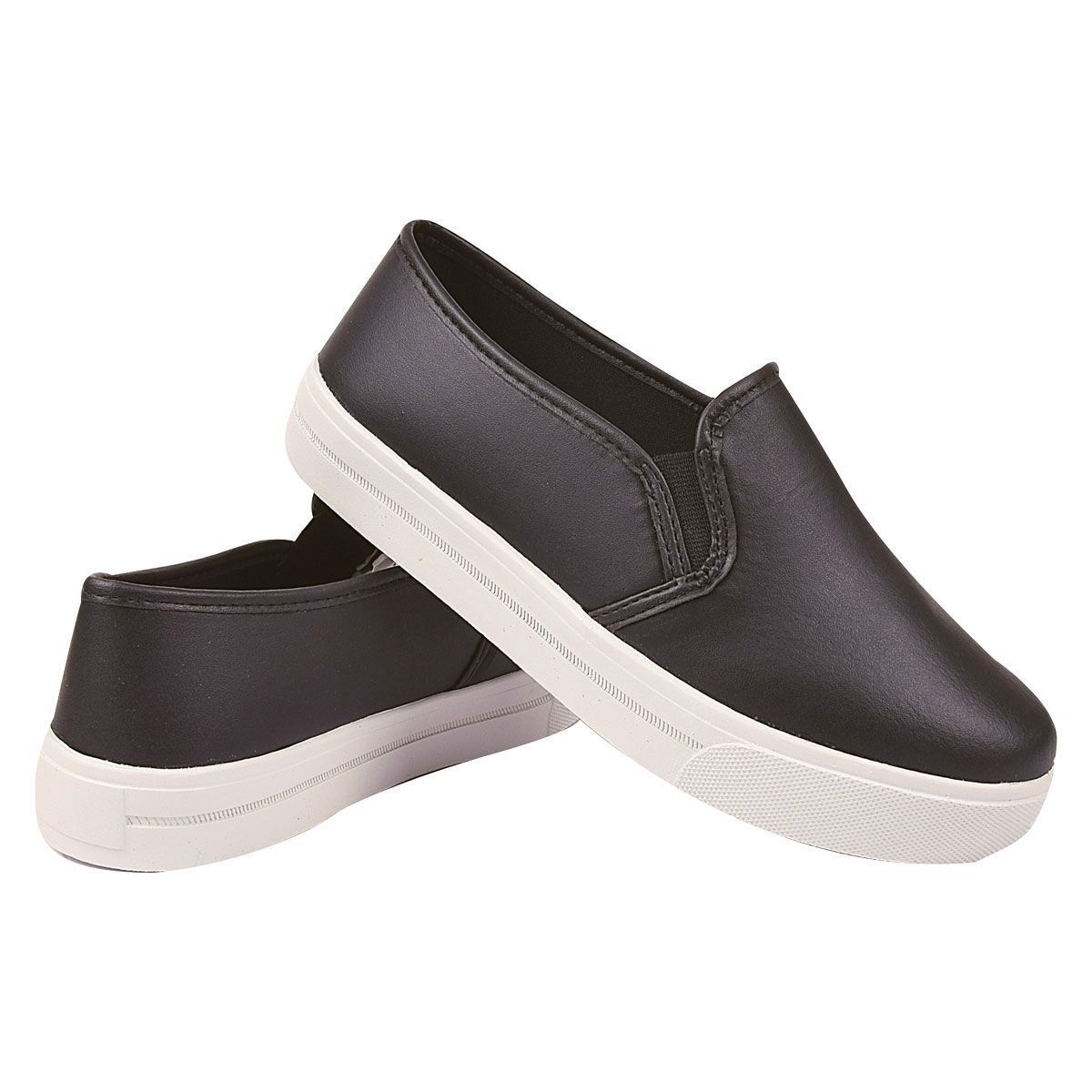 Slip On Chiquiteira Casual Preto