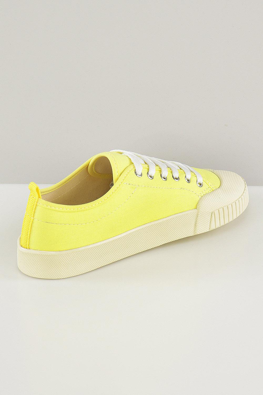 Tênis Chiquiteira Baixo Cadarço Amarelo AC