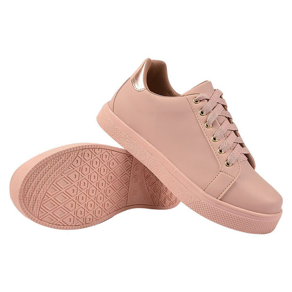 Tênis Chiquiteira Casual Nude STC