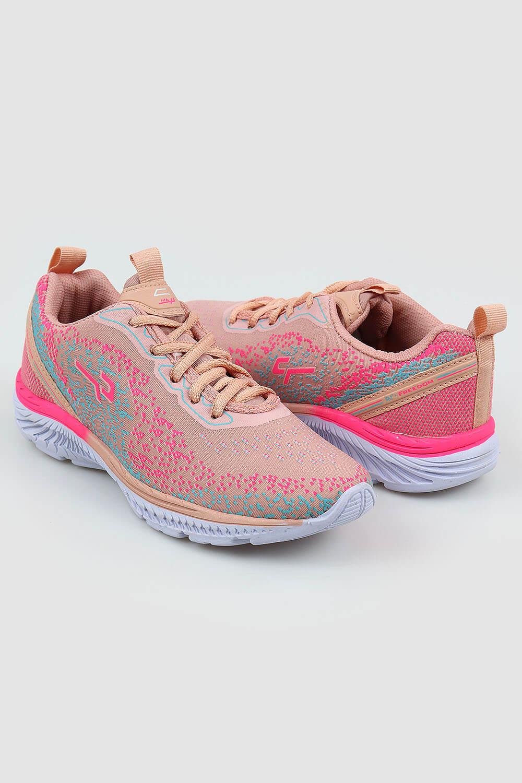Tênis Chiquiteira Infantil Esportivo Tecido Nude/Pink RPY
