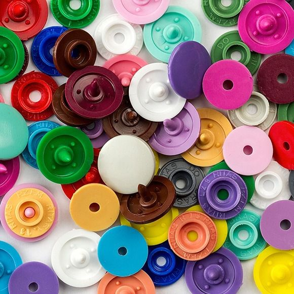 Botões Coloridos Ritas  Nº 12