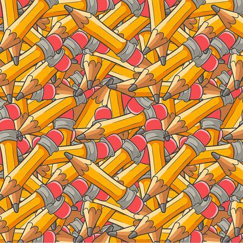 Fabricart Coleção 116 Colors - Lápis com Borracha - 50cm X150cm
