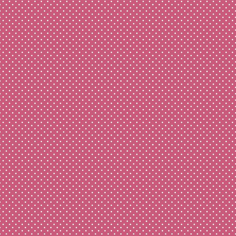 Fabricart Signature - Coleção Shabby - Micro Poá Rosa Romântico - 50cm X150cm