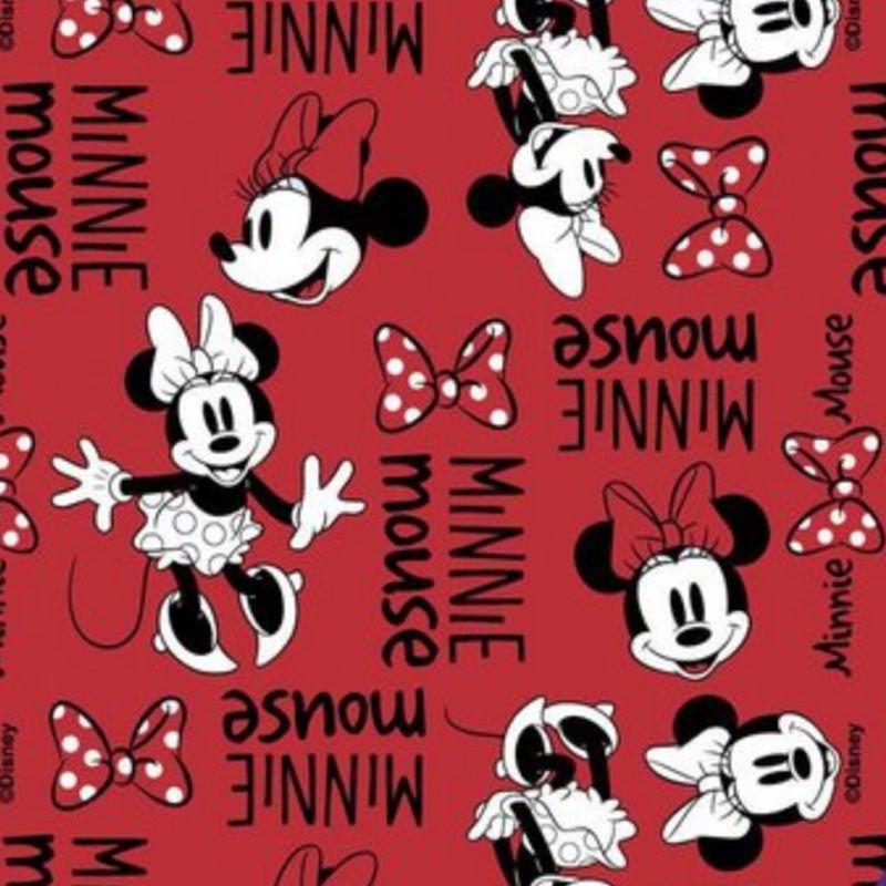 Fernando Maluhy - Coleção Disney - Patch Minnie - 50cm X150cm