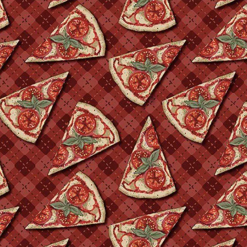 Fuxicos e Fricotes Coleção Chefs - Mini Pizzas - 50cm X150cm