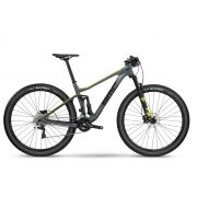 "Bicicleta 29 Carbono Bmc Agonist 02 Deore / XT Aro 29 Cinza e Verde"""