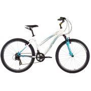 Bicicleta Aro 24 Soul Florinha Shimano 21v Branco/Verde