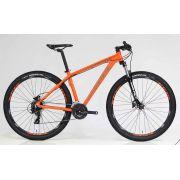 Bicicleta aro 29 Soul SL70 Shimano 24V Hidráulica Laranja/Grafite