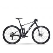 Bicicleta BMC aro 29 carbon Fourstroke FS02 shimano XT  Preta/Branca