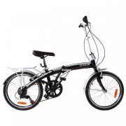 Bicicleta Dobrável Oxe Cube 6V Aro 20 Câmbios Shimano