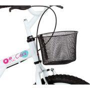 Bicicleta Feminina Caloi Ceci Aro 20 Modelo 2016 - Branca