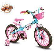Bicicleta Infantil Aro 16 Candy Nathor Bike