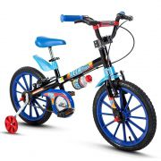 Bicicleta Infantil Aro 16 Tech Boys Nathor Bike