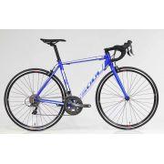 Bicicleta Speed Soul 1R1 Shimano Claris 16v Azul/Branco