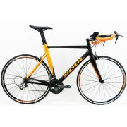 Bicicleta Speed TT Soul Ironfox 20V Tiagra Preto/laranja